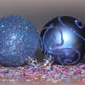 Feeling Blue... by Michelle Dimascio - Public Holidays Christmas ( festive, christmas )