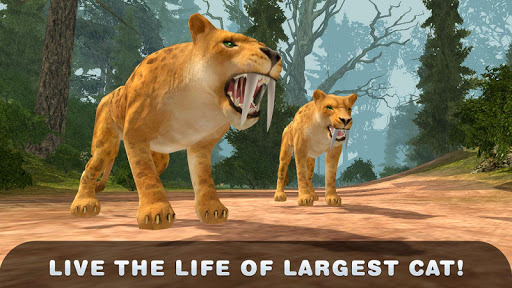 Life of Sabertooth Tiger 3D