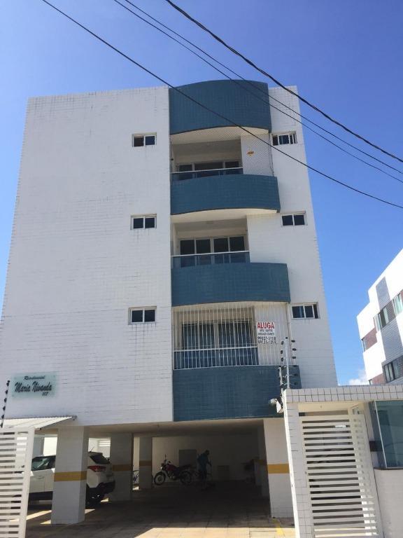 Apartamento com 2 dormitórios para alugar, 55 m² por R$ 1.100,00/mês - Intermares - Cabedelo/PB