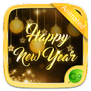 Happy New Year 2018 GO Keyboard Animated  4.5 APK Download