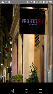 Project Fit London Fitness app screenshot for Android