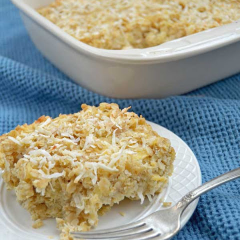 Pineapple Coconut Baked Oatmeal