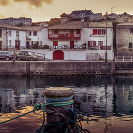 Viavelez port pano by Jorge Fernandez - Nature Up Close Water ( jffuente, port, viavelez, dawn, barcos, pano, asturias, amanecer, boats, puerto )