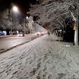 by Biljana Nikolic - City,  Street & Park  Street Scenes