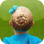 Little Girl Hairstyles APK Image