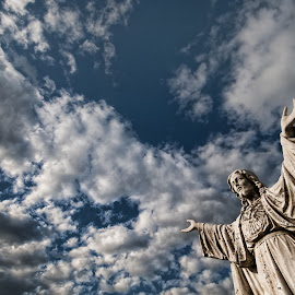 Creation by Carl Chalupa - Buildings & Architecture Statues & Monuments ( jesus )