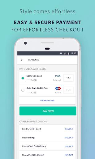 Myntra Online Shopping App screenshot 5