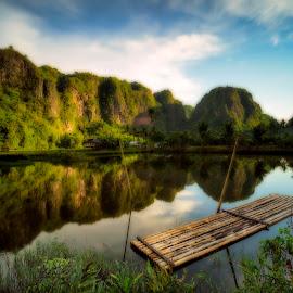 laming laming by Rocky Jaya - Landscapes Mountains & Hills