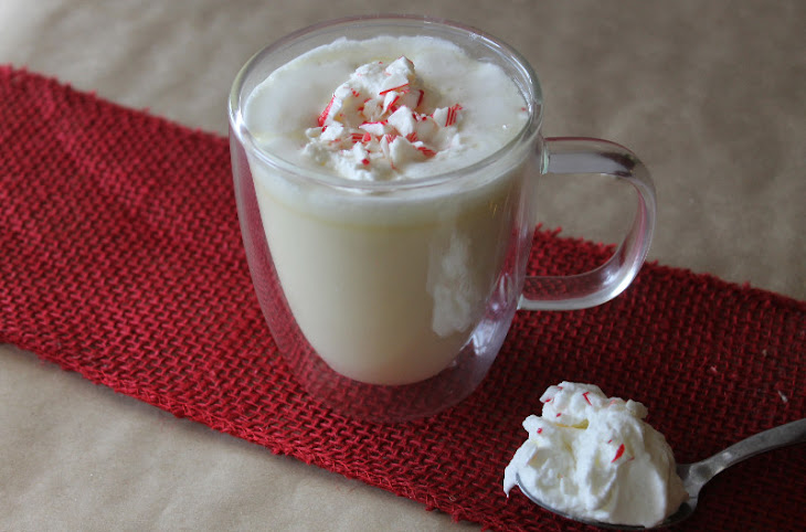 Peppermint White Hot Chocolate Recipe | Yummly
