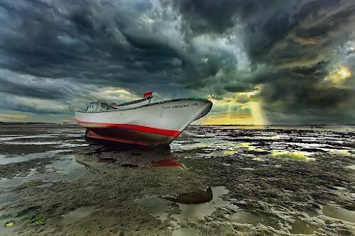 Stormy  by Agoes Antara - Transportation Boats