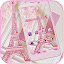 Download Pink Theme Eiffel Tower Love APK
