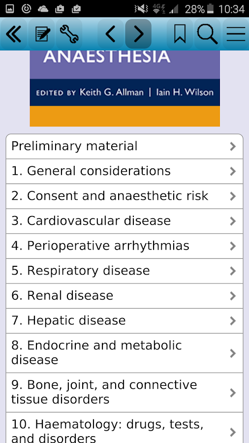 Oxford Handbook of Anaesthes 4 Screenshot 0