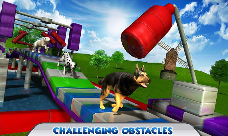 Stunt Dog Simulator 3D Screenshot 1