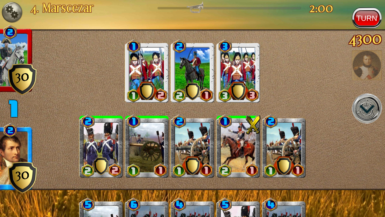 Napoleon War Cards Screenshot 13