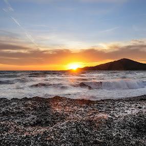 Cala codolar by Inma  Monte Picante - Landscapes Beaches