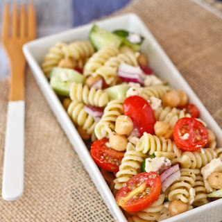 Greek Pasta Salad With Feta Cheese Recipes