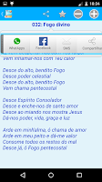 Screenshot of Hinário Louvores do Reino JMC