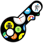 Bubble Cloud Premium Key Icon