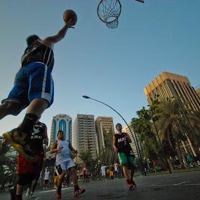 Street Basket. UAE 2013 by João Ferreira - Sports & Fitness Basketball ( basketball abu dhabi )