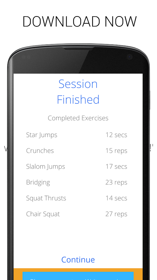 5 Minute Home Workouts Screenshot 4