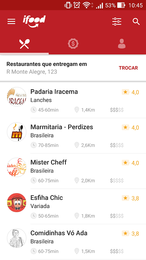 iFood - Delivery de Comida Screenshot 7