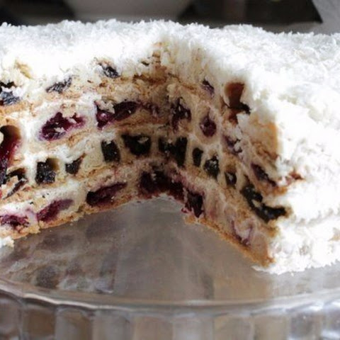 Cake «Cherries in the Snow»