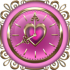 Pink Love Clock Collection