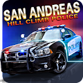 San Andreas Hill Climb Police APK for Bluestacks
