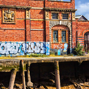 Waterfront by Josh Hilton - Buildings & Architecture Other Exteriors ( old, building, vintage, hull, docks, antique, waterfront )