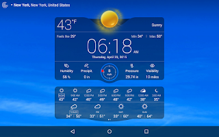 Screenshot of Weather Live