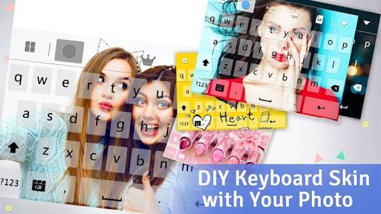 Keyboard - Boto: Flaming.Skull APK for Bluestacks