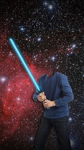 Light Saber Photo Montage - screenshot
