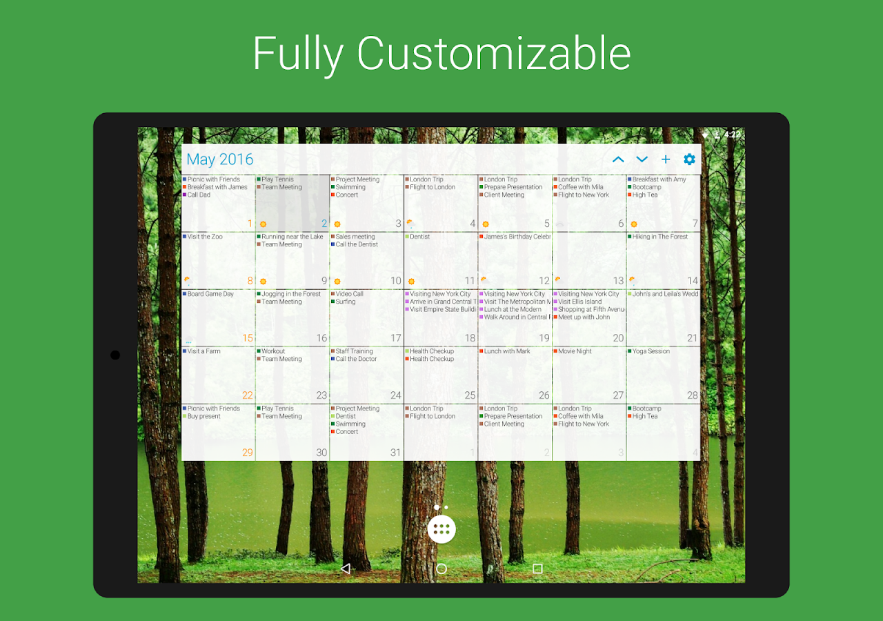 DigiCal Calendar Agenda Screenshot 14