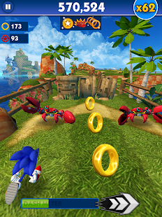 Sonic Dash apk screenshot