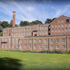 quarry bank mill by Caroline Beaumont - Buildings & Architecture Public & Historical ( quarry bank mill )