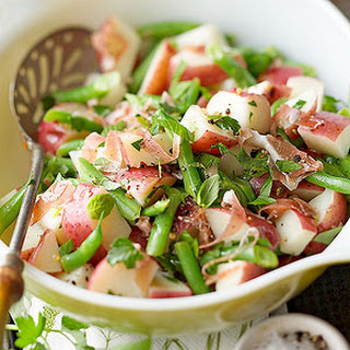 Prosciutto and Green Bean Potato Salad