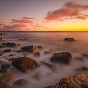 by Patrick Pedersen - Landscapes Waterscapes ( water, hvaler, fredrikstad, waterscape, patrick, vann, long exposure, landscape, aqua, skies, norway )