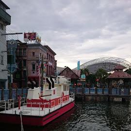 @USS by Monika Threeustwotea - City,  Street & Park  Amusement Parks ( cloudy, sonyz1, nofilter )