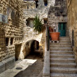 Jerusalem - old City by Yuval Shlomo - City,  Street & Park  Historic Districts