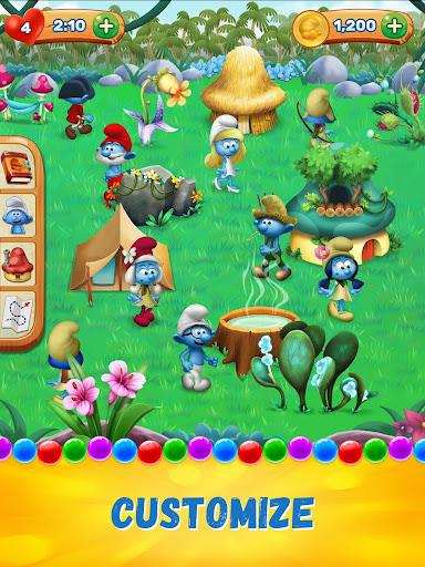 Smurfs Bubble Shooter Story screenshot 10