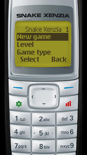 Snake Xenzia Rewind 97 Retro screenshot 1