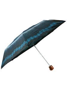 """Зонт """"Компакт S"""", черно-синий, белый"""
