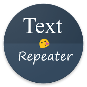 Repeat the Text and Emojis as many times as you want! APK Icon