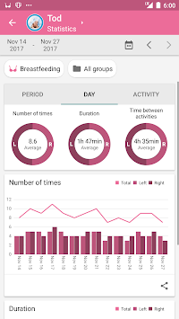 Baby Daybook - Daily Tracker APK screenshot thumbnail 3