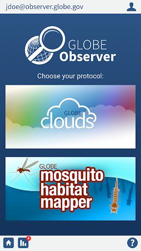 GLOBE Observer screenshot 1