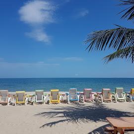 Caribbean Beach by Donna Chapman-Domitrek - Landscapes Beaches ( water, sand, peacefull, beach, caribbean )
