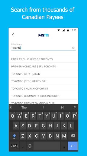 Paytm - Pay Bills in Canada screenshot 2