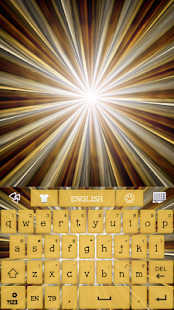 GO KB SKIN - Gold Burst - screenshot