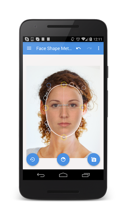 My Face Shape Meter Screenshot 0