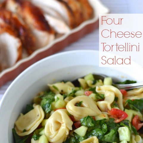 Four Cheese Tortellini Salad